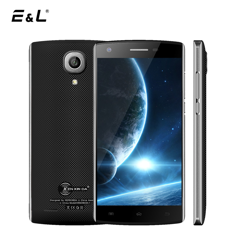 E&L <font><b>J7</b></font> 3G Unlocked Dual Sim Mobile Phone Android 6.0 MTK6580 Quad Core 1+8GB Smartphone 5 Inch Corning Gorilla Glass Cellphone
