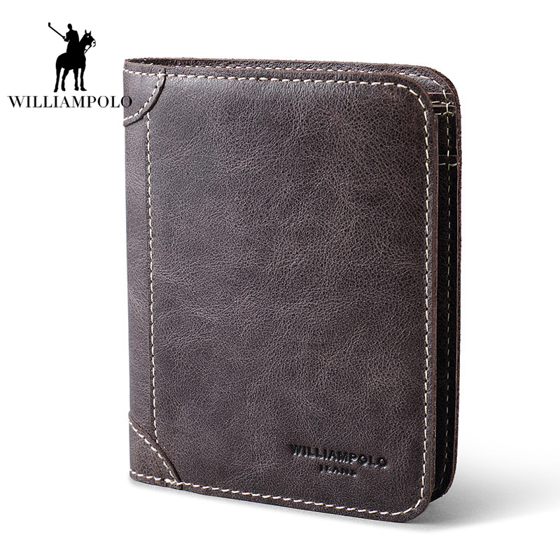Business Italy Genuine Leather Men Wallets Man Wallet Men Coin Purse Fashion Male Clutch Bag Men 8 Card Holder SIM Card holder never leather badge holder business card holder neck lanyards for id cards waterproof antimagnetic card sets school supplies