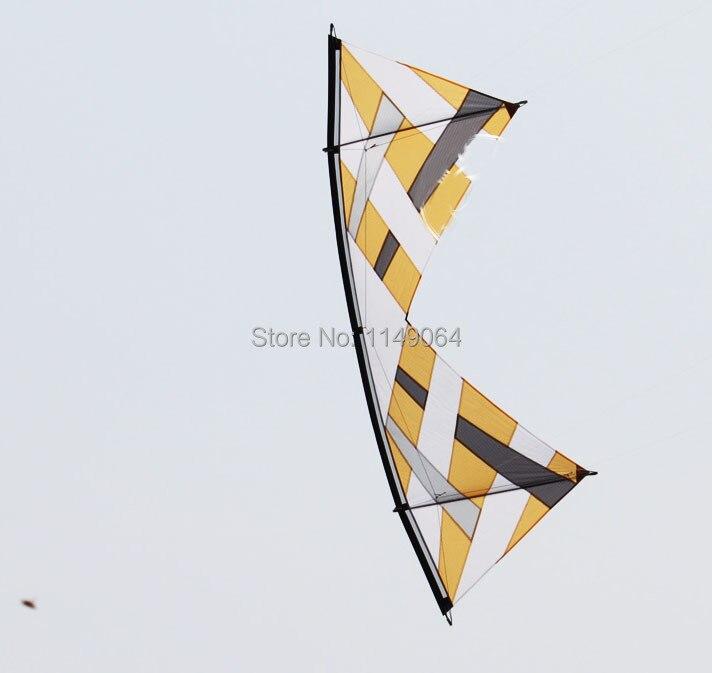 все цены на free shipping high quality 2.4m REV diamond quad line stunt kites toys volante surf reel traction controller passarinhos онлайн