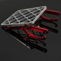 Motorcycle Billet CNC Rear Luggage Carrier Rack For HONDA CRF450X 2005 2008 CRF450R 2005 2009 Motocross