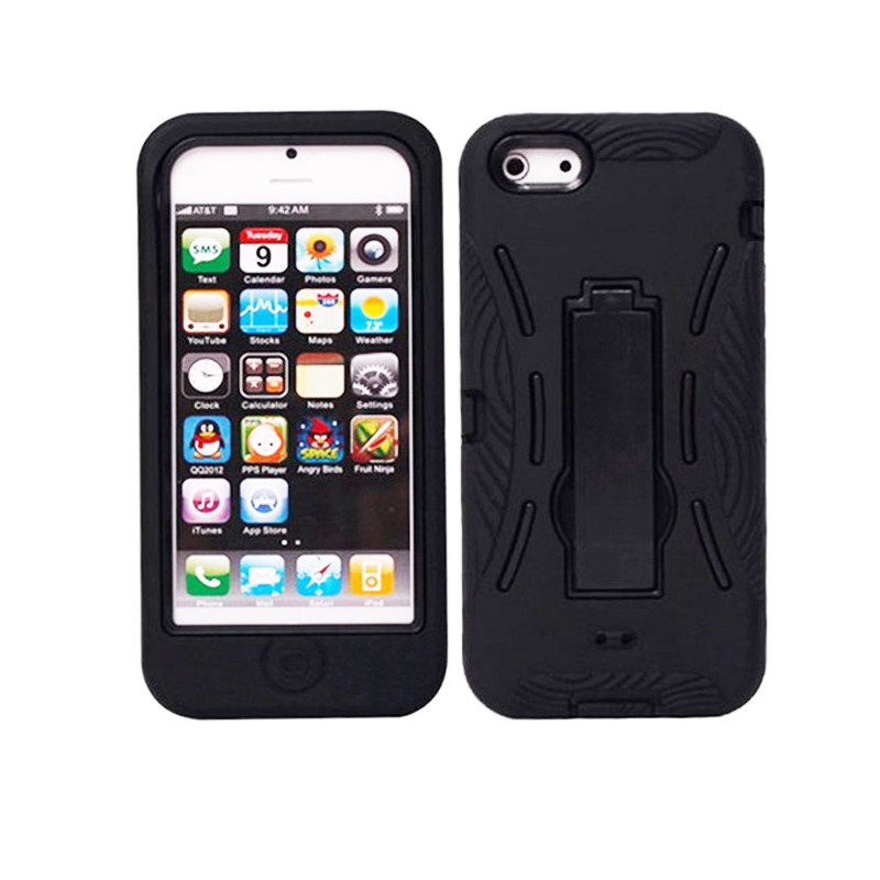 Heavy Duty <font><b>Armor</b></font> <font><b>Case</b></font> <font><b>For</b></font> Apple <font><b>iPhone</b></font> <font><b>4</b></font> 4S Shockproof Kickstand Cover image