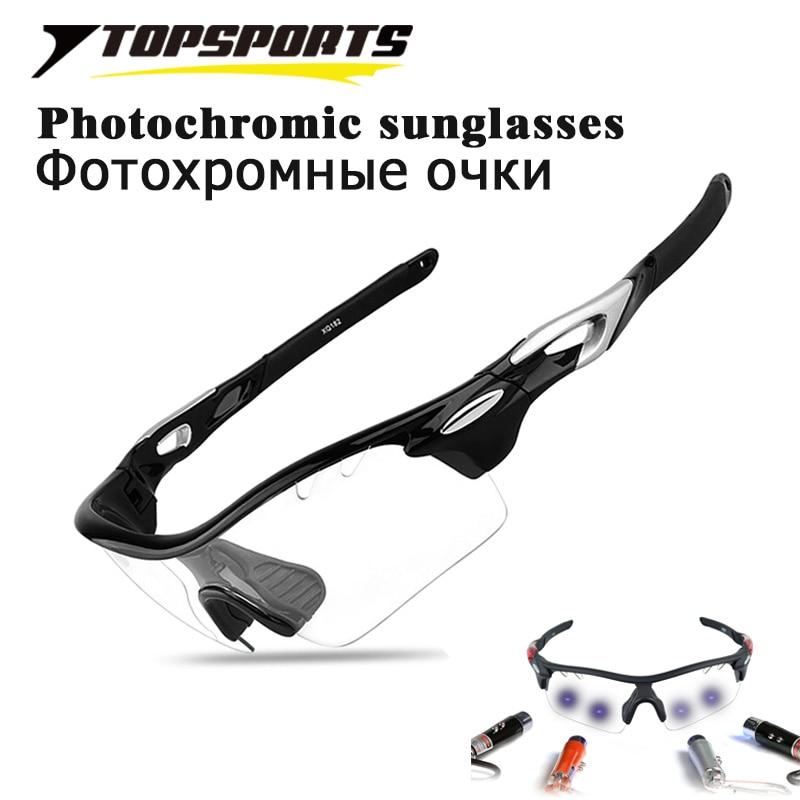 3Lens Photochromic Polarized Cycling Glasses Outdoor Sport Sunglasses Men Bicycle Riding UV400 TR90 Driving Women Biking Eyewear