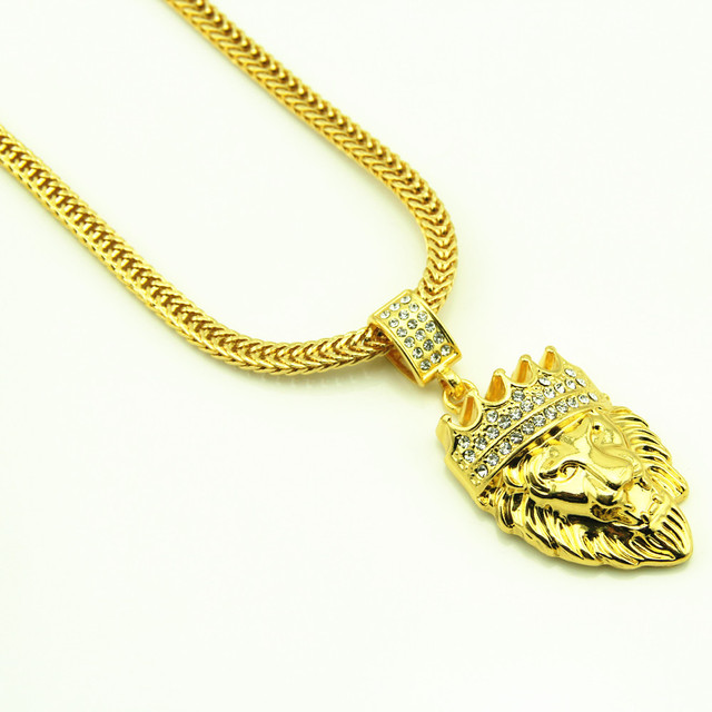 Hip hop goldkette  Aliexpress.com : Hiphop Goldkette Lion King Maxi Halskette ...