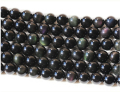 Natural Rainbow Obsidian 6mm 8mm 10mm 12mm Smooth Round Stone Bead Gem stone Loose Bead Strand Grade A 1string