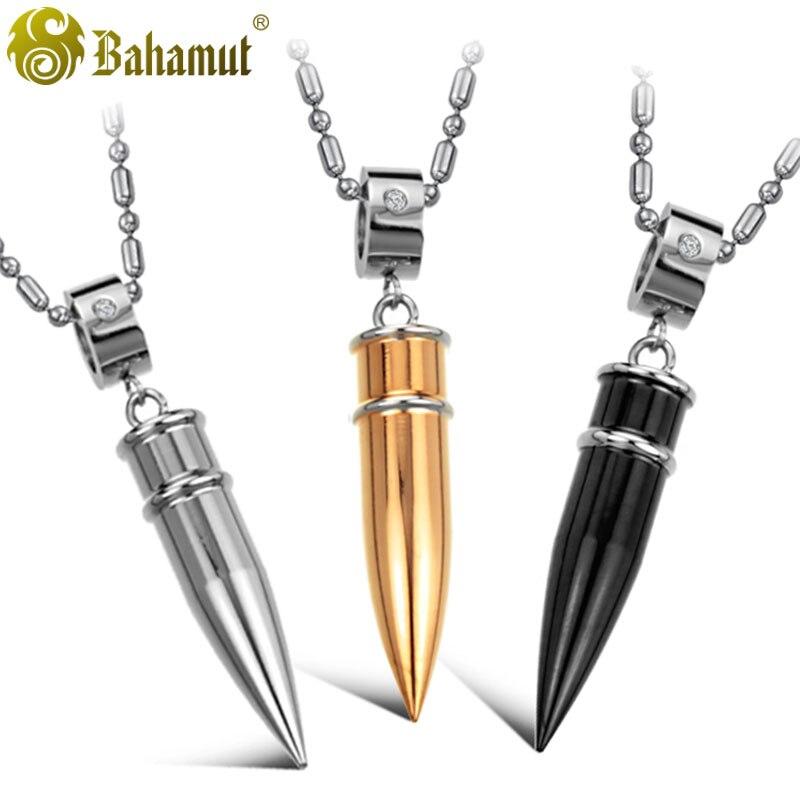 bahamut mens necklaces pendants titanium steel steampunk
