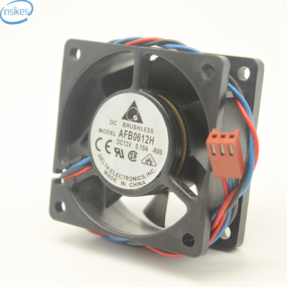 Brushless Fan Blower Fan AFB0612H Cooling Fan DC 12V 0.15A 60*60*25mm Inverter Fan AFB0612H-R00 with Free Shipping