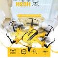 H20h mini drone jjrc originais 2.4g 4 canal 6 axis gyro rc hexacopter com modo cf/uma chave de retorno/flip 3d quadcopter dron toys