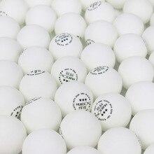 Huieson 100 шт./пакет Стандартный 3 звезды из АБС-пластика Пластик шарики для пинг-понга 40+ 2,8g для настольного тенниса поли шарики для взрослых тренировка для соревнования