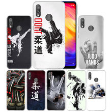 Judo Taekwondo Case for Xiaomi Redmi Go Note 7 6 6A Pro S2 5 5A 4X Mi A1 A2 9 Mix 3 5G 8 lite Play F1 Hard PC Phone Coque Cover(China)