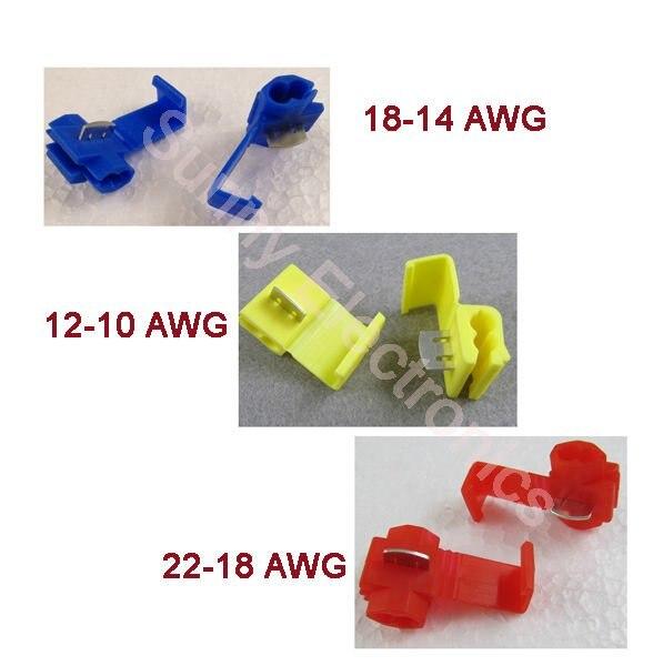 Cable zapato y conectores surtido 160 piezas para 0,5-6,0mm²