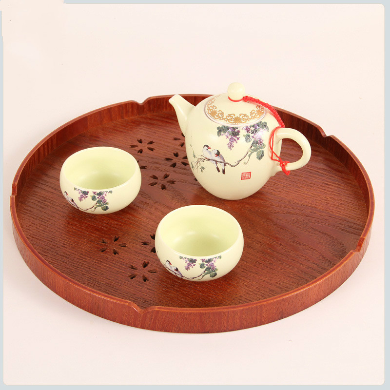 1pcs Wooden Fruit Dessert Servies Dish Food Sweets Coffee Dinner Tableware Serving Trays for Party/Hotel/Home Dinner Plate Dish & ?? ??1pcs Wooden Fruit Dessert Servies Dish Food Sweets Coffee ...