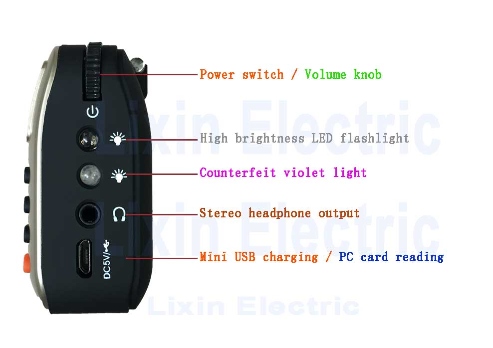 Cheap portable mini radio