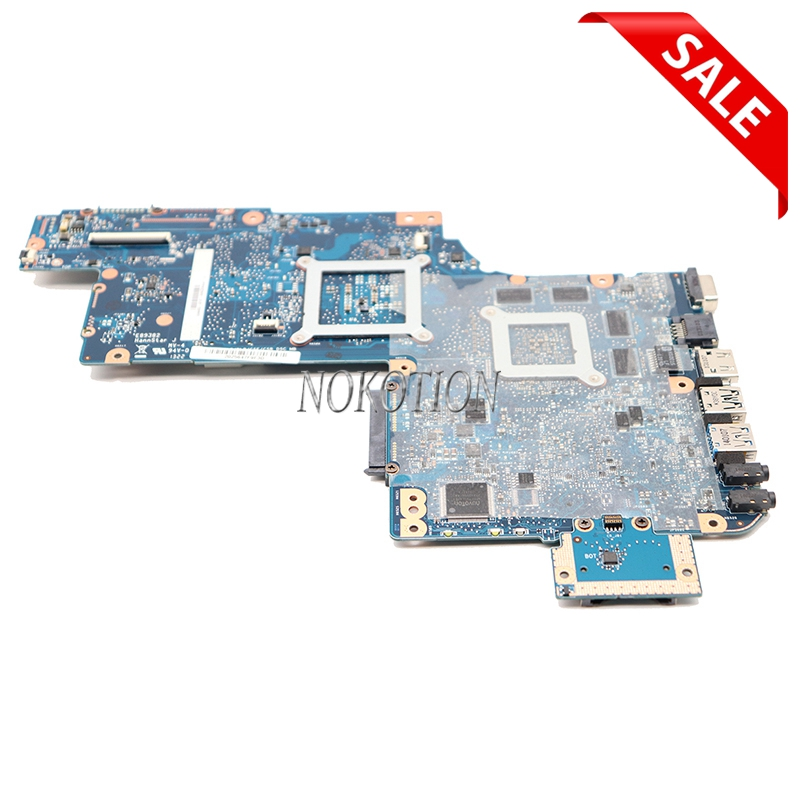 YOUKITTY Four sourare H000046240 for Toshiba Satellite C870 L870 C875 L875 S875 Motherboard PGA989 HM76 1GB HD7610M Graphic mainboard