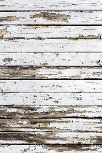 5x7ft Distressed White Wood Floor ArtFabric Backdrop XT 2251