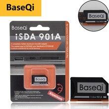 מקורי BaseQi אלומיניום Minidrive Microsd כרטיס מתאם 901A עבור Lenovo yoga 900 & 710 SD קורא כרטיסי זיכרון כרטיס מתאמי usb c