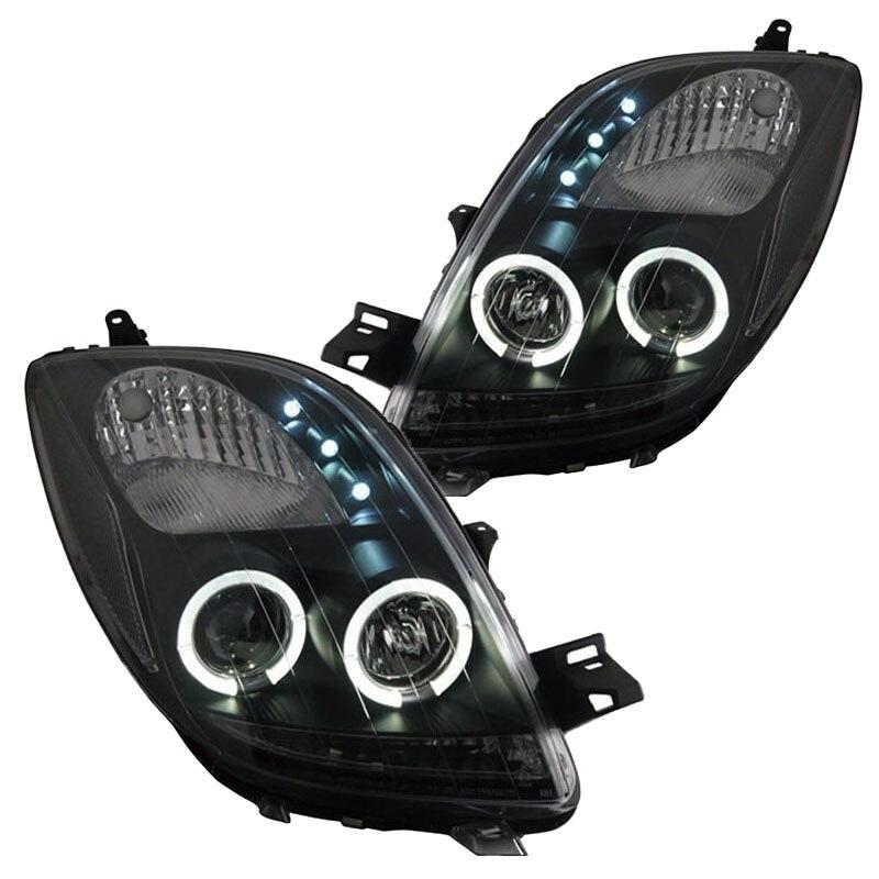 for Toyota Yaris Headlight 2006-2012 toyota yaris echo yaris verso устройство техническое обслуживание и ремонт