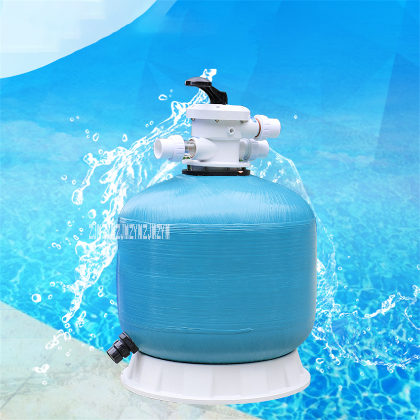 Top Type Fishpond Sand Filter Swimming Pool Equipment Water Treatment For Water Paradise Massage Pool Water Filtration System