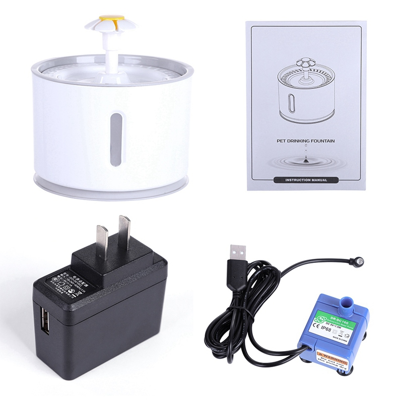 Automatic Pet Electric Pet Drinking Fountain 3