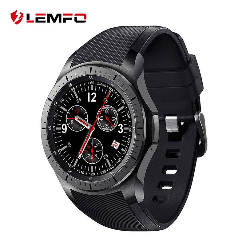 LEMFO LF16 Smart Phone Watch Android Uomini Smartwatch Bluetooth WIFI GPS 3G Smartwatch Dispositivi Indossabili Orologio Da Polso