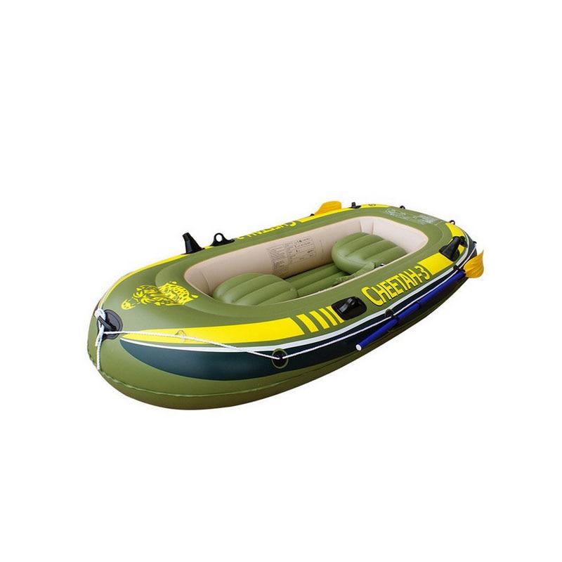 2/3/4 personne bateau gonflable canot kayak épais coussin pour bateaux kayak pliant de pêche bateau à la dérive spécial d'assaut épais