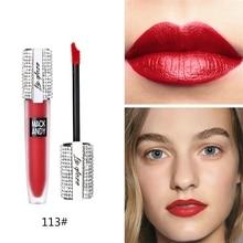 Matte Lip Gloss Makeup Waterproof Red Lip Long Lasting Matte Lip Gloss Matte Liquid Lipsticks недорого