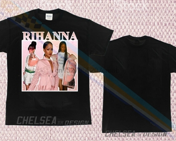 bd833eeb0c363 Inspired By Rihanna Pink Tee T-shirt Tour Merch Limited Edition