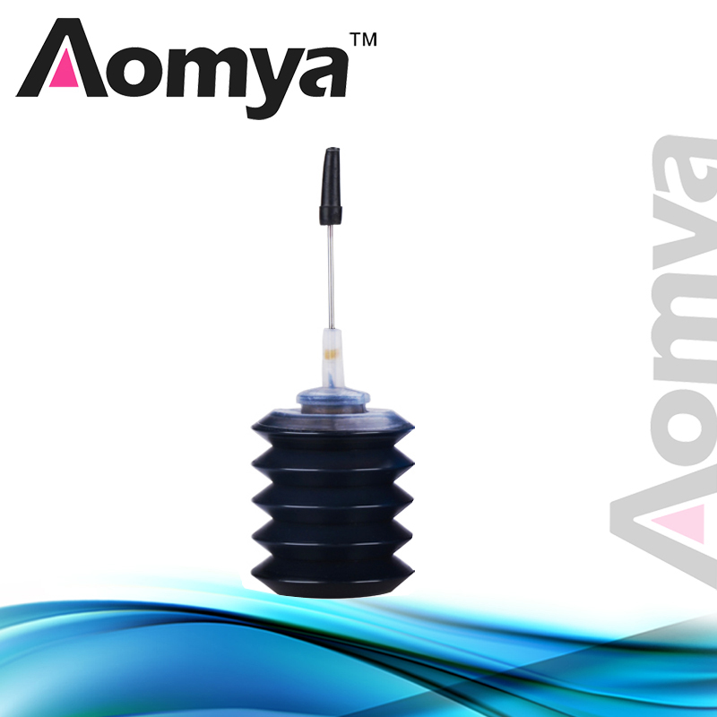 Aomya 30ml Black Universal Refill Ink kit Compatible for HP for Canon for Brother for Lexmark for DELL for Epson printer Ink continuous ink supply system for epson canon hp lexmark