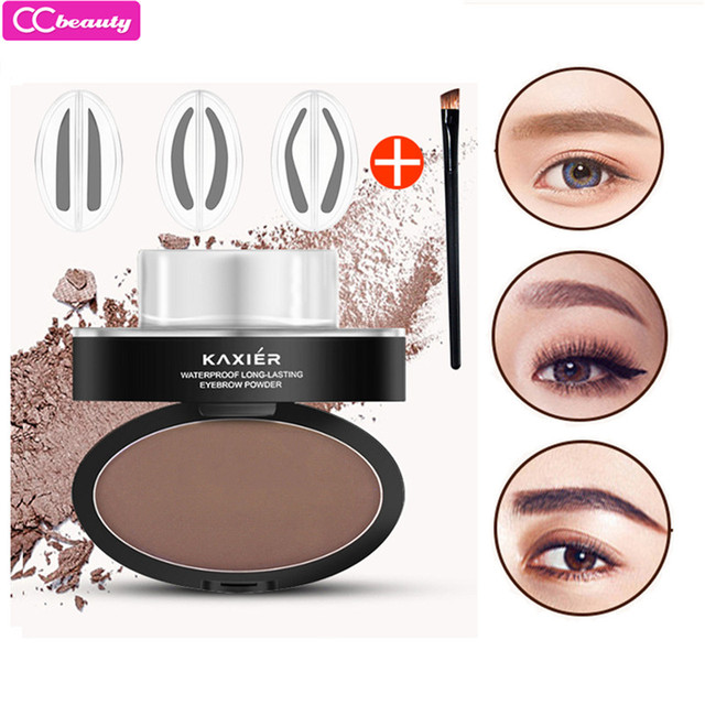 CCbeauty 2018 Brand New Eyebrow Powder Stamper Seal Kit Eyebrow Kit ...