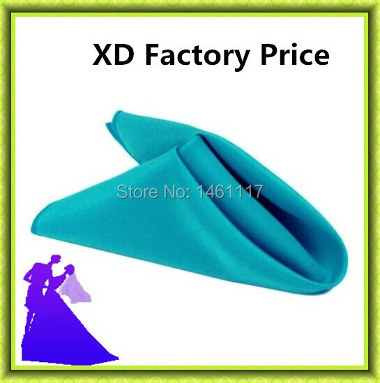 High quality cheap price 100% polyester table napkin for wedding