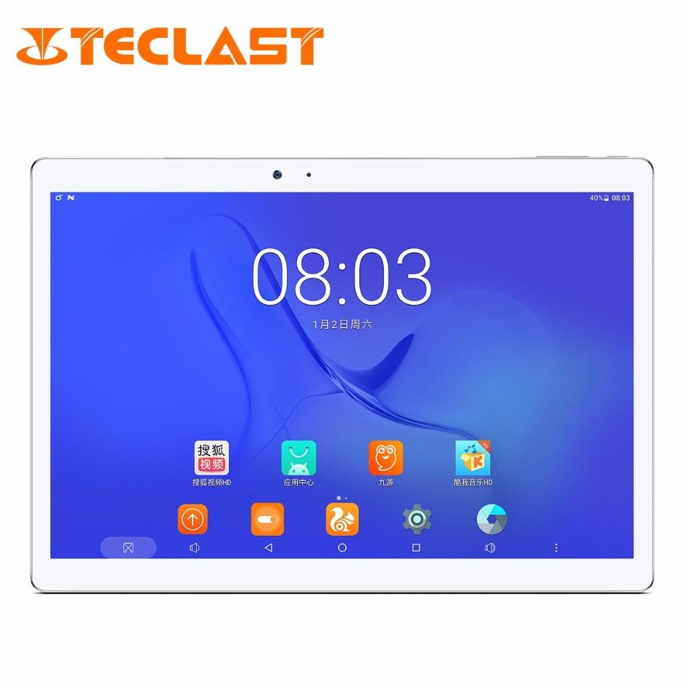 "Teclast мастер T10 Android 7.0 MT8176 гекса core 4 ГБ Оперативная память 64 ГБ Встроенная память 8.0mp + 13.0 МП HDMI отпечатков пальцев сенсор 10.1 ""2560*1600 Планшеты PC"