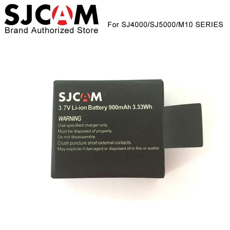 Original SJCAM Brand Battery Additional Battery Spare Battery For SJ4000 WiFi SJ5000 WiFi Plus M10 SJ5000x Elite Action Camera 1pcs sjcam brand battery sjcam dual charger for sj4000 wifi sj5000 wifi plus m10 sj5000x sjcam action camera