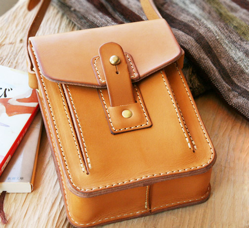 Yellow Messenger Bag Drawing Rectangle B 5005 Diy Handmade Leather Fashion Style Pattern In Cutting From Home Garden