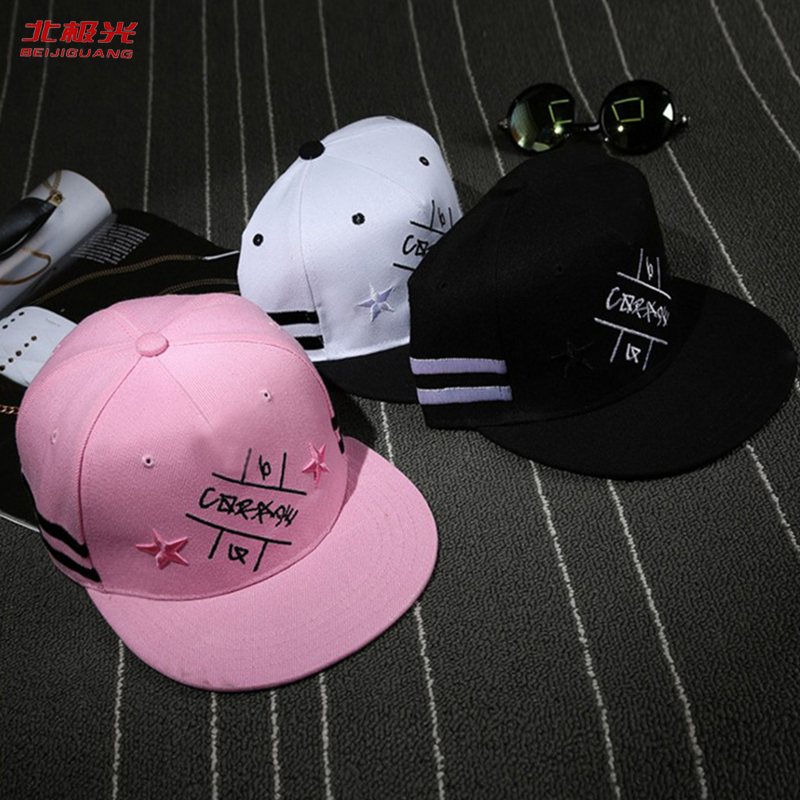 Vasaras beisbola Hiphop tētis cepure pavasara zvaigzne izšūt zēni - Apģērba piederumi
