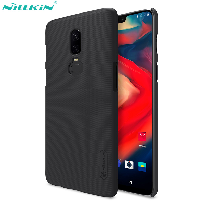 Nillkin Case for Oneplus 6 Case 5 5T 6T Cover Super Frosted Shield PC Hard Back Matte Cover for One plus 6 6T Case