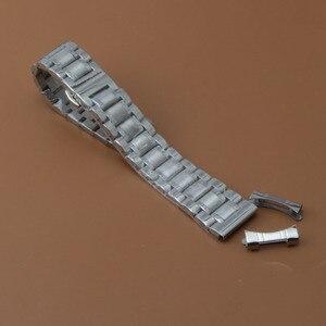 Image 4 - Watchband 19mm 20mm 21mm 22mm zegarek bransoletki wysokiej jakości zegarek ze stali nierdzewnej akcesoria darmowe zakrzywione końcówki dla mężczyzn kobiet nowy