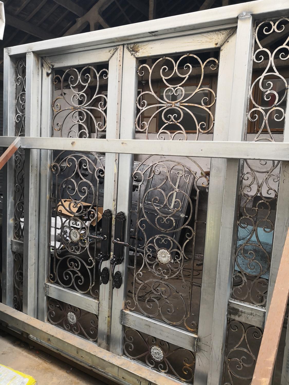 Hench 100% Steel Metal Iron Front Doors Hc-1