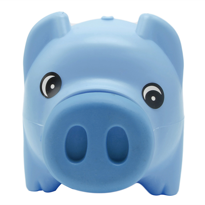 Permalink to Money Box Plastic Piggy Bank Coin Money Cash Collectible Saving Box Pig Toy Kids Gift