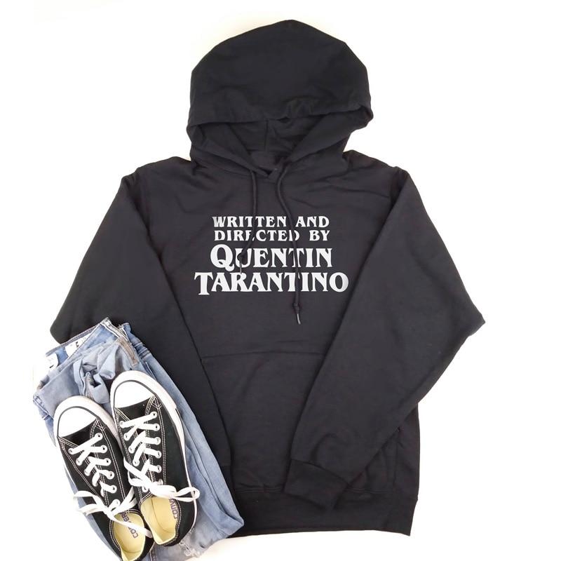 Written And Directed By Quentin Tarantino Hoodie Women Horor Movie Crewneck Sweatshirt Tumblr Casual Hoodies Camiseta Feminina