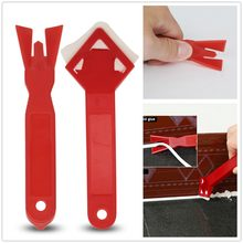 Silicone Bathroom Kitchen Frames Sealant Seals Grout Remover Spreader Spatula Sealant Caulking Tool(China)