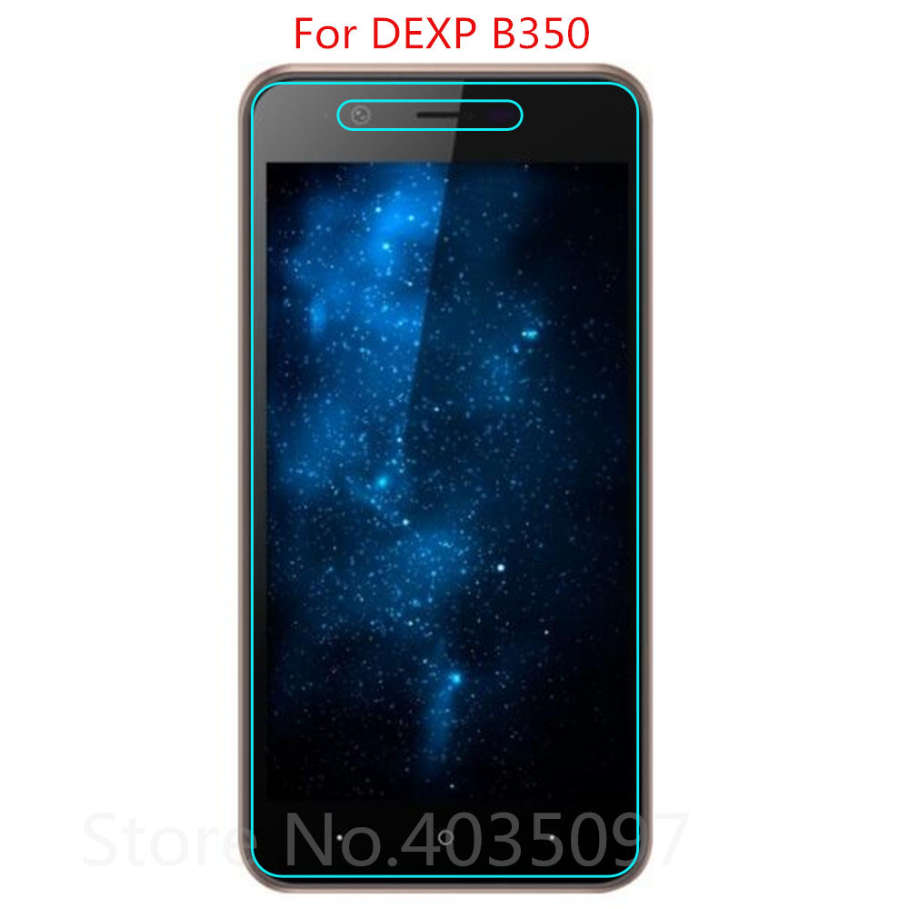 2.5D 0.26mm 9H Premium Tempered Glass For DEXP B350 Screen Protector Toughened protective film For DEXP B350 Glass