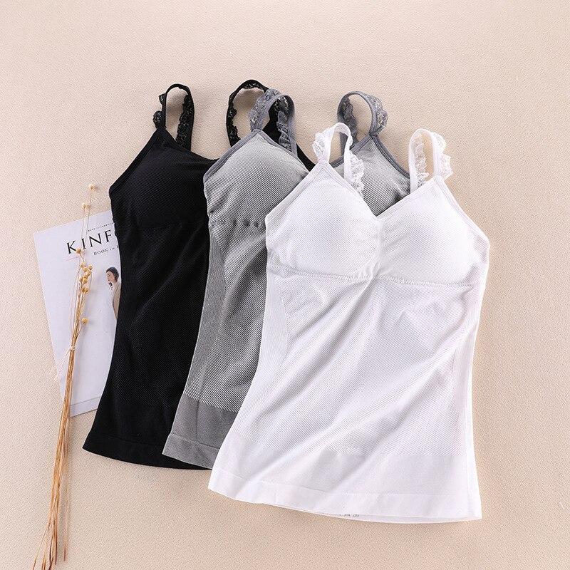 AfroditaUme Women Fitness   Tank     Top   Lace Long Vest