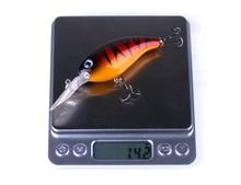HENGJIA 1PC big Crankbait fishing Wobblers Tackle 14g 10cm pesca Swim Crank Bait Bass Fishing Lure pike perch
