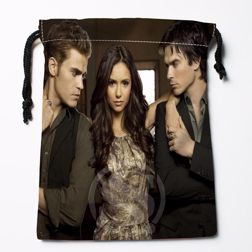 Fl Q68 New The Vampire Diaries 6 Custom Logo Printed receive bag Bag Compression Type drawstring