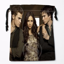 Fl-Q68 New The Vampire Diaries &6 Custom Logo Printed  receive bag  Bag Compression Type drawstring bags size 18X22cm 711-#F68