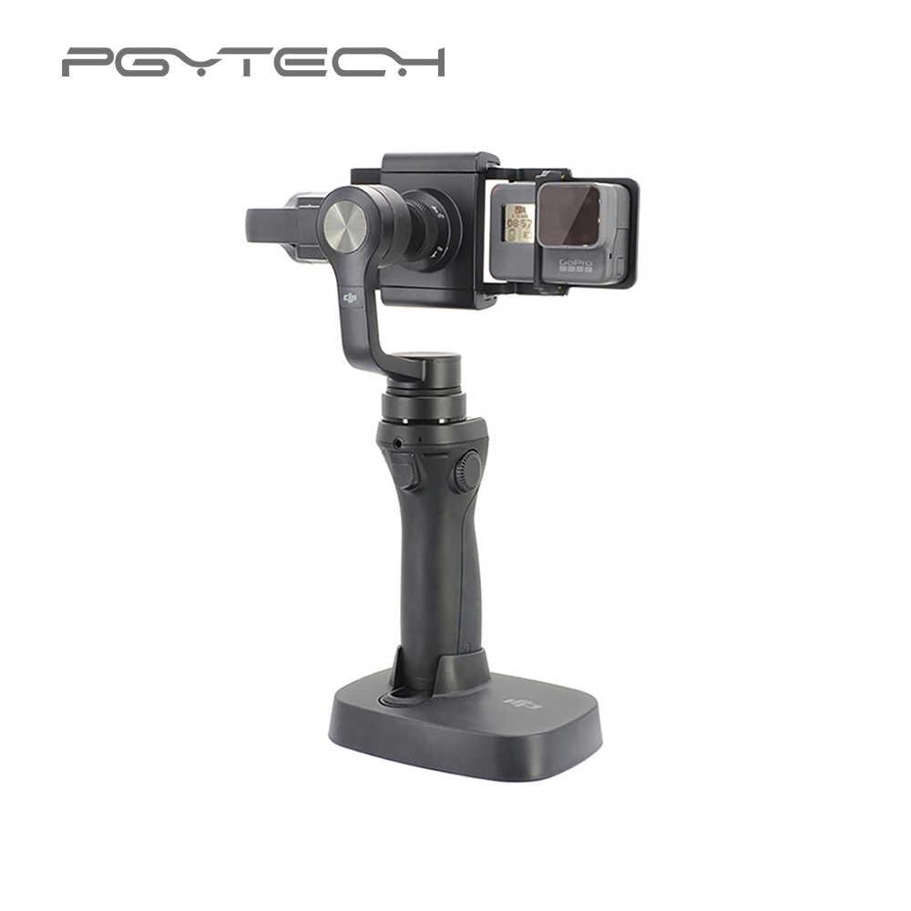 PGYTECH адаптер для osmo mobile zhiyun Hero 6 5 4 3 + xiaoyi smooyi аксессуары переключатель крепление пластина Камера Gopro