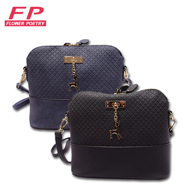 6be067e0e744 2016 Women Messenger Bags Fashion Mini Bag With Deer Toy Shell Shape Bag  Women Shoulder Bags bolso mujer Free Shipping bolso