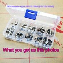 50 шт. всего 5 шт. каждый из 10 типов 4 провода 2 фазы dc микро шаговый двигатель мини шаговый двигатель ассорти в коробке