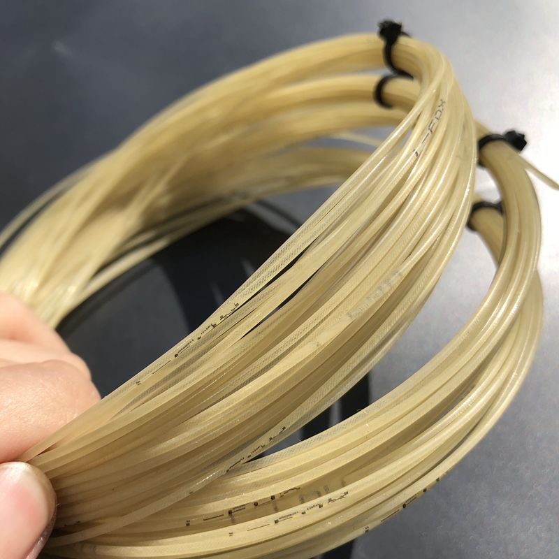1pc Synthetic Gut Tennis Racket String Soft Feeling Nylon Tennis Rackets String 6M Synthetic Gut Poly Blend