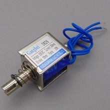 цена на gangbei-0826B Wholesale Pull Type Linear Solenoid Electromagnet JF-0826B DC 6V 12V 24V 350mA Force 20N travel 10mm
