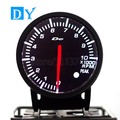 High Quality 2.5 INCH 60MM DY BF Universal RPM Speedometer Gauge with White and Red colors Light racing car Tachometers Meter